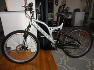 Youth Size DIAMOND BACK Full Suspension mountain Bike!