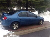 2002 Chrysler Neon - As Is