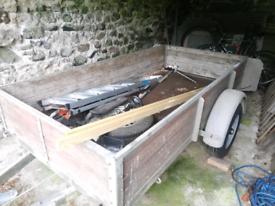 Bateson 8x4 trailer - used