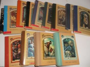 11 Books A Series of Unfortunate Events Lemony Snicket +Autobio
