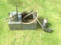 Colchester Bantam Coolant Pump and Light
