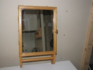 Solid wood Vanity with mirror
