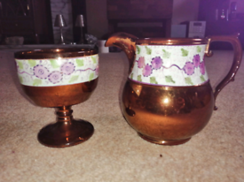Jug and goblet