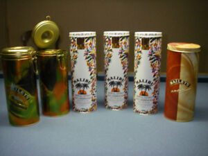 $40.00 FOR ALL 35  VINTAGE TOBACCO, LIQUOR, BISCUIT&CANDY TIN.