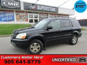 2003 Honda Pilot EX-L  4X4 LEATHER AS IS (UNCERTIFIED) AS TRADED