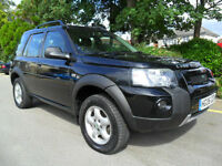 Land Rover Freelander 2.0TD4 2006 COMPLETE WITH M.O.T HPI CLEAR INC WARRANTY