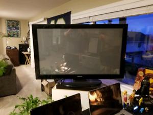 52 inch samsung tv  no remote
