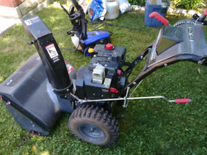 Excellent Snow blower.Hardly used.