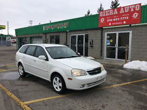 2005 Chevrolet Optra Wagon****ONLY 125 KMS***GOOD ON GAS**AS IS