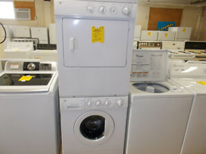 Stacking washers and dryers. 90 day warraanty. $699.