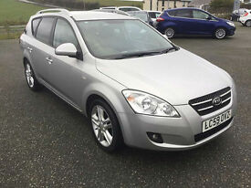 Kia Ceed 1.6 CRDi SW-7**DIESEL ESTATE**PSH**NEW MOT**£110 RD TAX**65MPG**