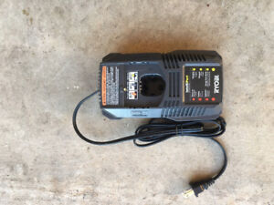 New - Ryobi IntelliPort 18V One+ Battery Charger
