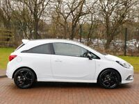 2015 15 REG corsa limited edition 1.2 in ice white, 2 keys , fsh, 1 owner , 4,500 miles- mint car