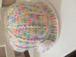 Hand crocheted Cloche hat