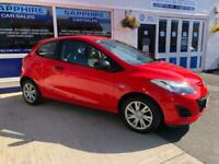 2012 12 MAZDA 2 1.3 TS. ONE OWNER FROM NEW, £30 TAX, LOW INSURANCE GROUP.