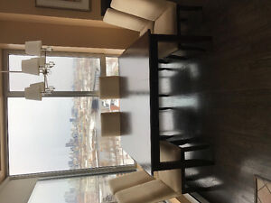Philippe Dagenais Dining Room Table & 8 Chairs