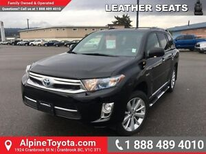 2013 Toyota Highlander Hybrid LIMITED   Hybrid, leather, navigat