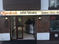 Marakesh Fast Food/Takeaway Buisness for sale in Storrington (20 years established)