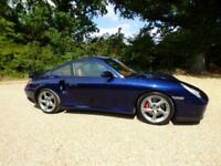 Porsche 911 / 996 Turbo, Manual, Lapis Blue, Huge Spec, X50 UPGRADE