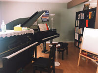 Piano Lesson from the Southside of Edmonton