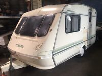 Good Elddis 2 berth Whirlwind XL Caravan