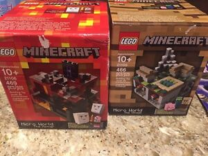 Mine craft Lego...