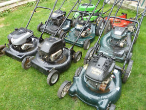 LAWN MOWERS FOR SALE ((((ALL WORK GREAT ))))