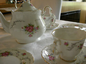 Royal Albert TRANQUILLITY China Tea or Coffee Set 10 pce Vintage