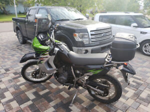 Low mile KLR650 for sale. FALL PRICING !!!