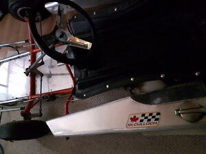 7ft by four foot  MCCULLOUGH lay down  drive Racing go cart Kingston Kingston Area image 3