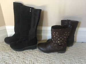Girl boots size 12