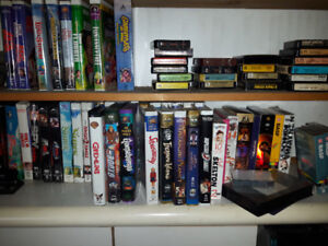 Best offer approx. 800 VHS tapes