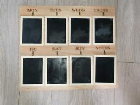 Blackboard planner