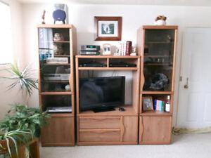 Living Room 3 Piece Hutch