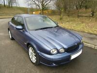 2004 '04' JAGUAR X-TYPE 2.0 V6 SPORT 4 DOOR SALOON ONLY 89,000 MILES