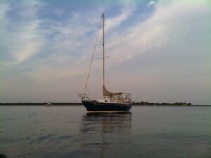 Mirage 27 Sailboat