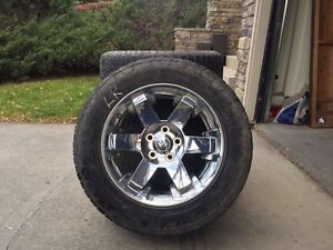 Nitto Terra Grapplers on Dodge stock 20's