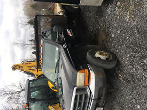 1999 f550 2wd 7.3 diesel for parts or fix