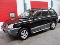 Hyundai Santa Fe 2.4 GSI (black) 2004