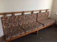 Bench Seats reduced includes cushions