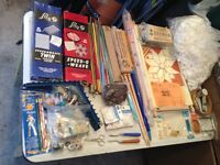 *Amazing Vintage Sewing/Crafts/Fabrics Package*