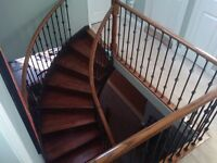 OAK & MAPLE HARDWOOD STAIRS & RAILINGS