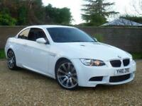 2010 10, BMW M3 4.0 ( 420bhp ) DCT M3 Convertible ++ ALPINE WHITE