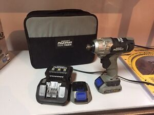 Perceuse impact drill mastercraft maximum dual touch  West Island Greater Montréal image 2