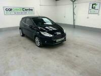 *buy from £41 per week* BLACK FORD FIESTA 1.0 TITANIUM X 3D 124 BHP