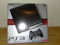 PS3 SLIM 250G, 25+ GAMES, PS MOVE, PS EYE, HDMI, 1 Controller