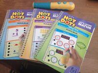 3 activity books