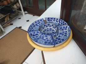 Household serving dish