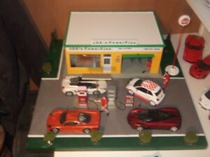 1/24 scale plastic model car collection