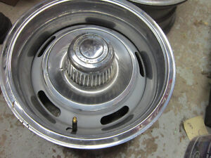 60's Camaro Chevelle GM rally Wheels, 67 68 Z28 NOS Door Guards